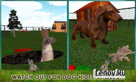 Pet Rabbit Vs Dog Attack 3D v 1.0.3 Мод (Unlock all levels)