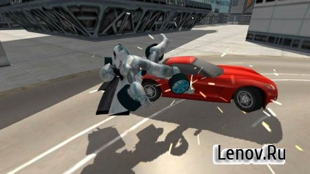 Flying Car Robot Simulator v 1 (Mod Money/Unlocked)