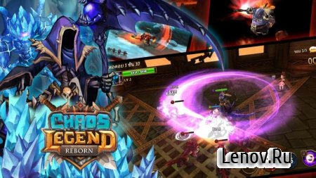 Chaos Legend Reborn v 1.59.7 Мод (Always Crit Damage & More)