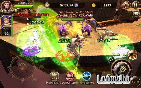 Babel Rush: Heroes & Tower v 1.0.0 Мод (3x dmg, 3x defense)