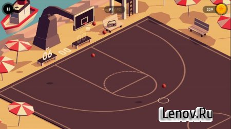 HOOP - Basketball (обновлено v 1.5.4) (Mod Money)