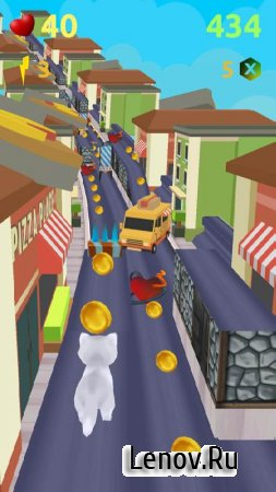 Talking Cat Gold Run v 1.5 (Mod Money)