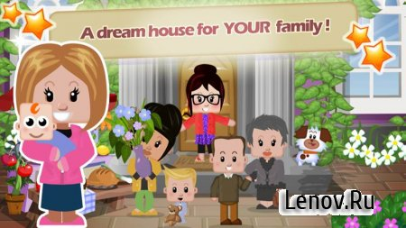 Family House v 1.1.124 Мод (Infinite Cash/Coins/Energy & More)