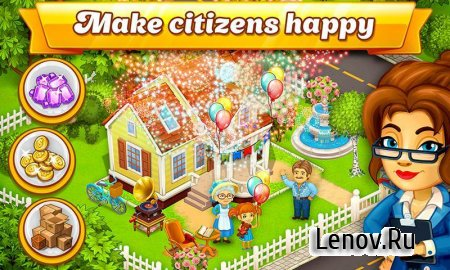 Cartoon City: farm to village v 1.73 Мод (много денег)