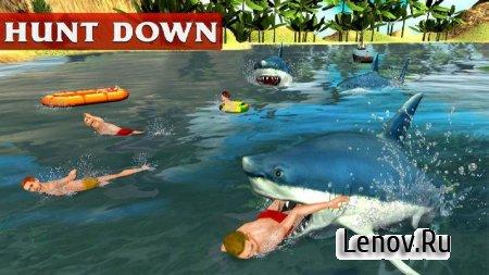 Angry White Shark Revenge 3D v 1.0.1 Мод (All levels unlocked)