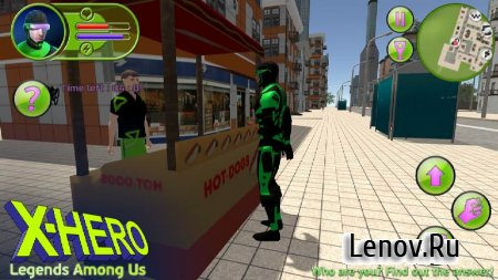 X-Hero: Legends Among Us v 2.0.0 (Mod Money)