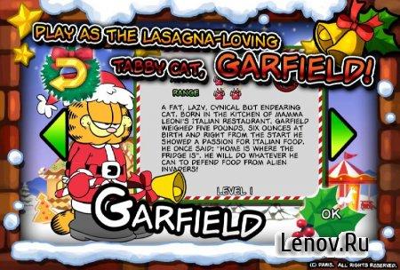 Garfield Saves The Holidays v 1.0.4 Мод (Money/Gems)