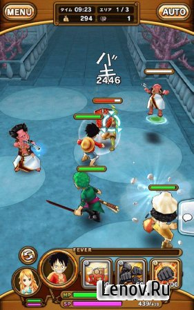 ONE PIECE Thousand Storm v 1.23.1 Мод (Weaken Monster)