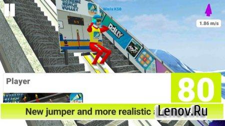 Ski Jumping Pro (обновлено v 3.52) (Mod Money/Unlocked)