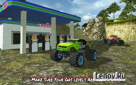 Angry Truck Canyon Hill Race v 1.1 (Mod Money/Unlocked)