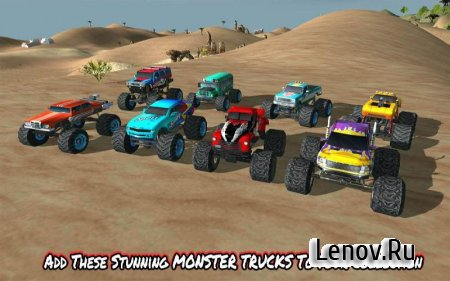 Angry Truck Canyon Hill Race v 1.1 (Mod Money/Unlocked)