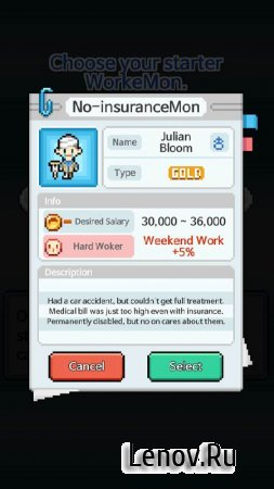 WorkeMon v 1.0.29 (Mod Money)