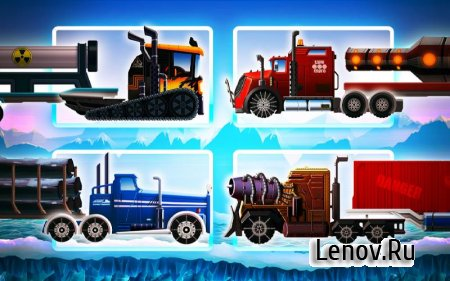 Truck Driving Race 2: Ice Road v 3.61 (Mod Money)