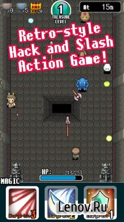 Pixel Dungeon Hero v 1.2.5 (Mod Money)