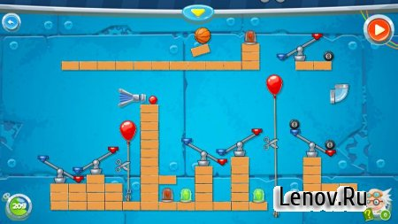 Rube's Lab - Physics Puzzle v 1.6.5 Мод (Premium Unlocked/Unlimited Hints)