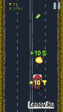 8Bit Highway: Retro Racing v 1.4.4 (Mod Money/Unlocked)