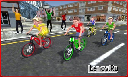 Kids Bicycle Rider Street Race v 1.0 (Mod Money)