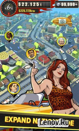 Crazy Taxi Tycoon v 1.0.0 (Mod Money)
