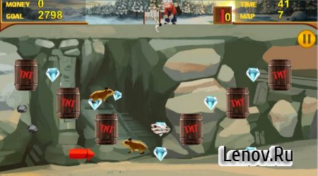 Crazy Gold Miner v 1.1 (No ads/Mod Money)