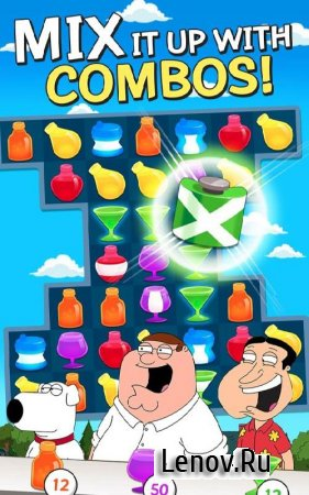 Family Guy - Another Freakin' Mobile Game v  2.28.4 Мод (Infinite Life/Coins/Uranium)