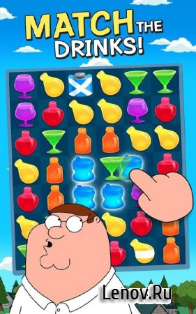 Family Guy - Another Freakin' Mobile Game v 2.5.12 Мод (Infinite Life/Coins/Uranium)