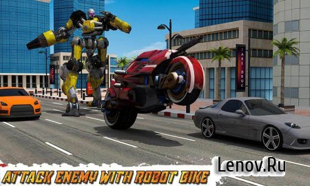 Moto Robot Transformation v 1.0 Мод (Unlocked)