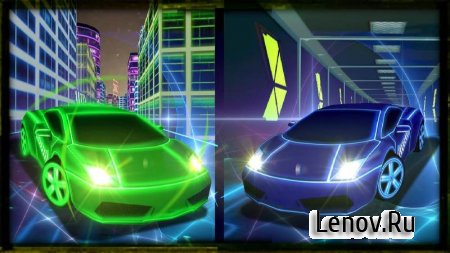 Real Neon Racing v 1.0 Мод (Unconditional purchase of the vehicle)