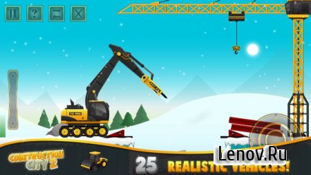 Construction City 2 Winter v 2.2.0 Мод (Unlocked)