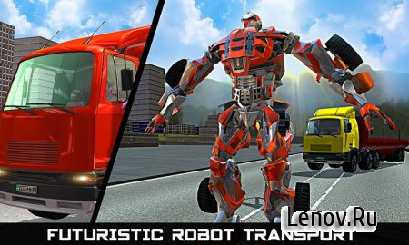 Car Robot Transport Truck v 1.1 Мод (Unlocked)