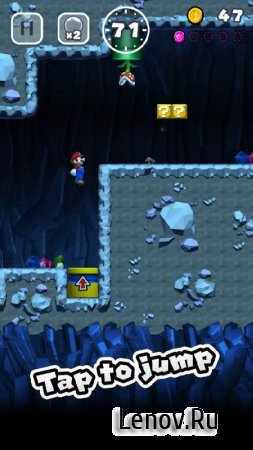Super Mario Run v 3.0.20 Мод (много денег)