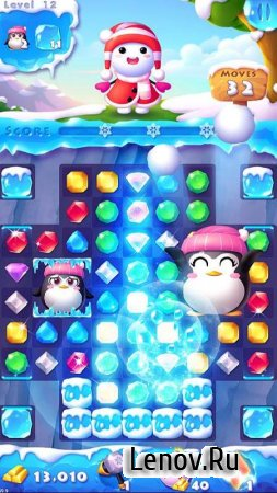 Ice Crush 2 v 2.7.8 Мод (Infinite Gold/Coin/Adfree​)