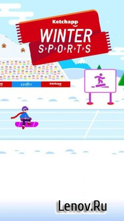 Ketchapp Winter Sports v 1.0 (No Ads/Money Mod)