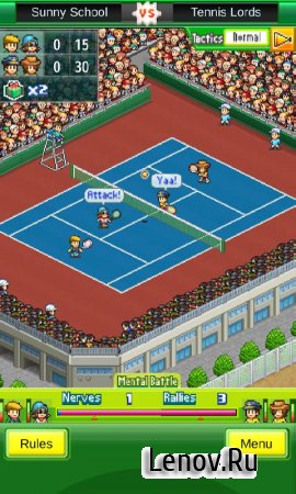 Tennis Club Story (обновлено v 2.0.0) (Full) Мод (Infinite Money/Sponsor Points/Training Points/ Idea Points)