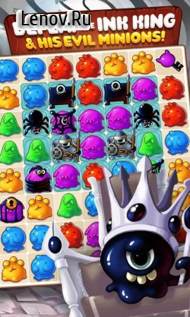 Paint Monsters v 1.32.101 Мод (Infinite Coins/Lives/Extra Moves Booster)