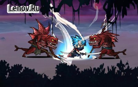 Ninja fight v 1.2.0 Мод (Gain lots of gold/+5000 damage/Health)
