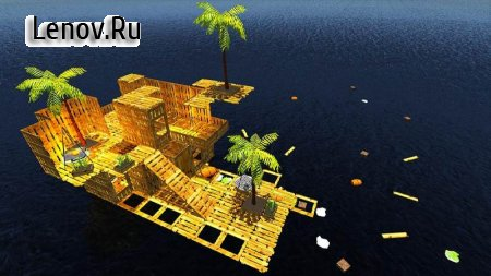 Raft Survival Hero Escape v 1.6 Mod (много денег)