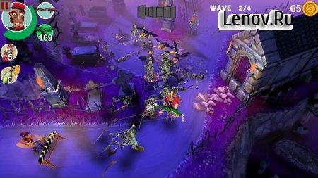 Mad Gardener: Zombie Defense v 1.9 (Mod Money)