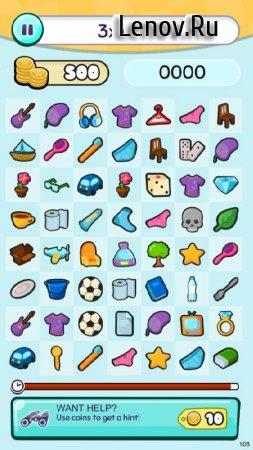 Doodle Match - Find Stuff game (обновлено v 1.28) (Mod Money)