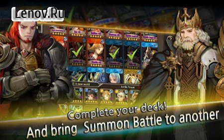 Summon Rush v 5.0 Мод (Max critical damage rate/Semi God mode & More)