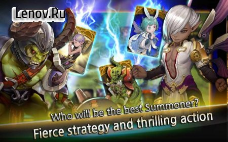 Summon Rush v 4.8 Мод (Max critical damage rate/Semi God mode & More)