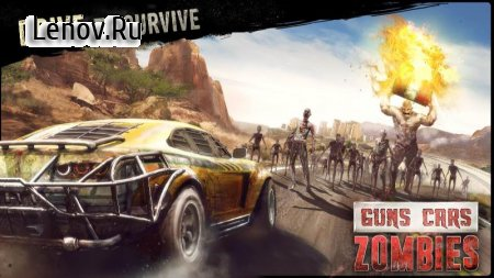Guns, Cars and Zombies v 3.2.6 (Mod Money)