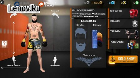 Muay Thai 2 - Fighting Clash (обновлено v 1.01) (Mod Money)