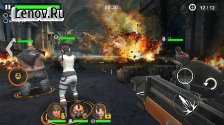 DEAD WARFARE: Zombie v 2.5.0.28 Мод (Damage/Unlimited Bullets/Ammo)