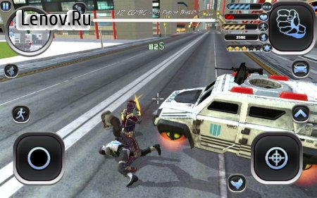 Amazing Hero: Man Of Justice v 1.21 (Mod Money)