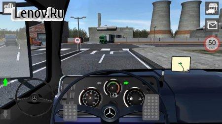 GBD Mercedes Truck Simulator (обновлено v 4.50) (Mod Money)