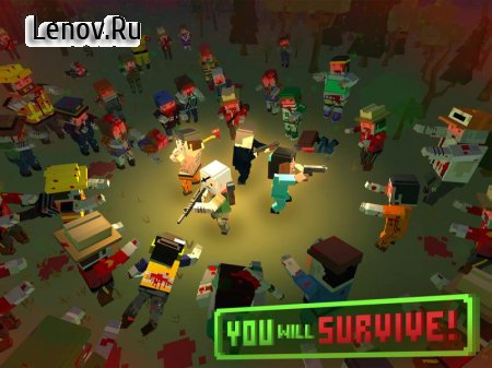 ZIC: Zombies in City — Island survival & Pixel Gun v 1.1 (modified story mode unlock)