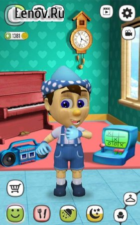 My Talking Pinocchio v 2.9 (Mod Money)