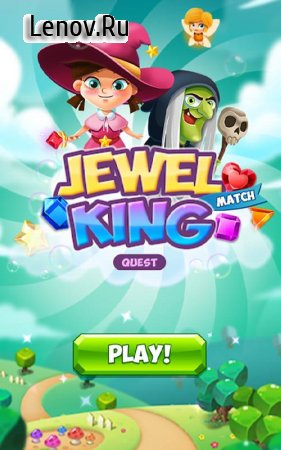 Jewel Match King: Quest v 2.1.6 (Mod Money & More)