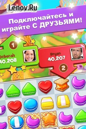 Cookie Jam v 8.70.215 Мод (Infinite Coins/Lives/Extra Moves)