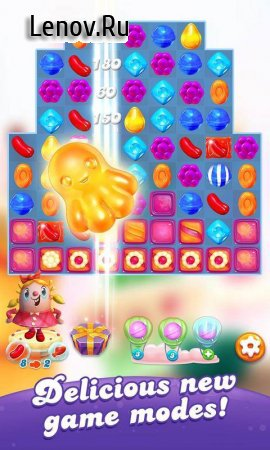 Candy Crush Friends Saga v 1.11.6 Мод (Unlimited Lives/Plus 100 Moves)